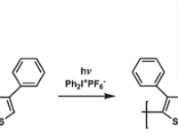 7- Polythiophene Derivatives by Step-Growth Polymerization via Photoinduced Electron Transfer Reactions